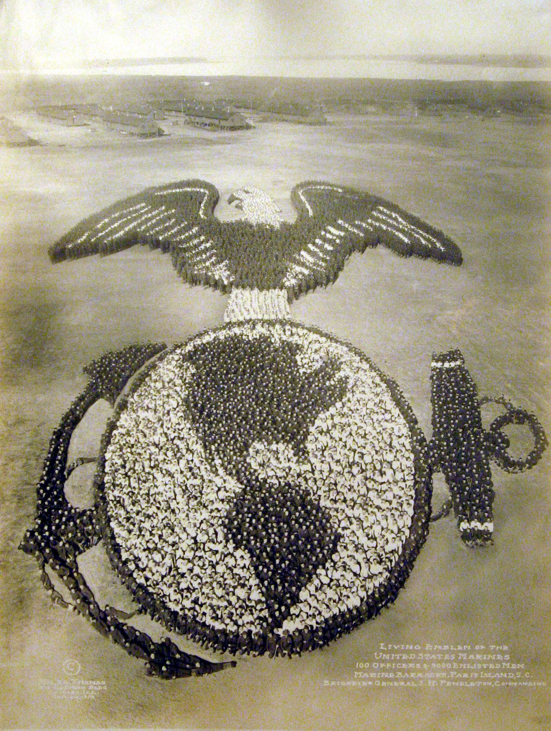 Living Emblem of the United States Marines, 1919