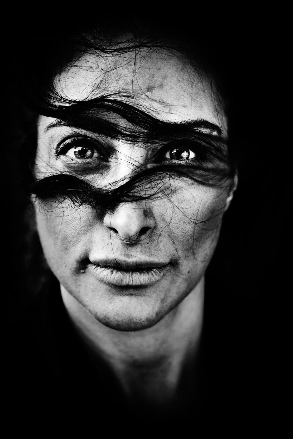 1 місце серед портретів: данська актриса іранського походження Меліса Мехрабан. (Laerke Posselt)