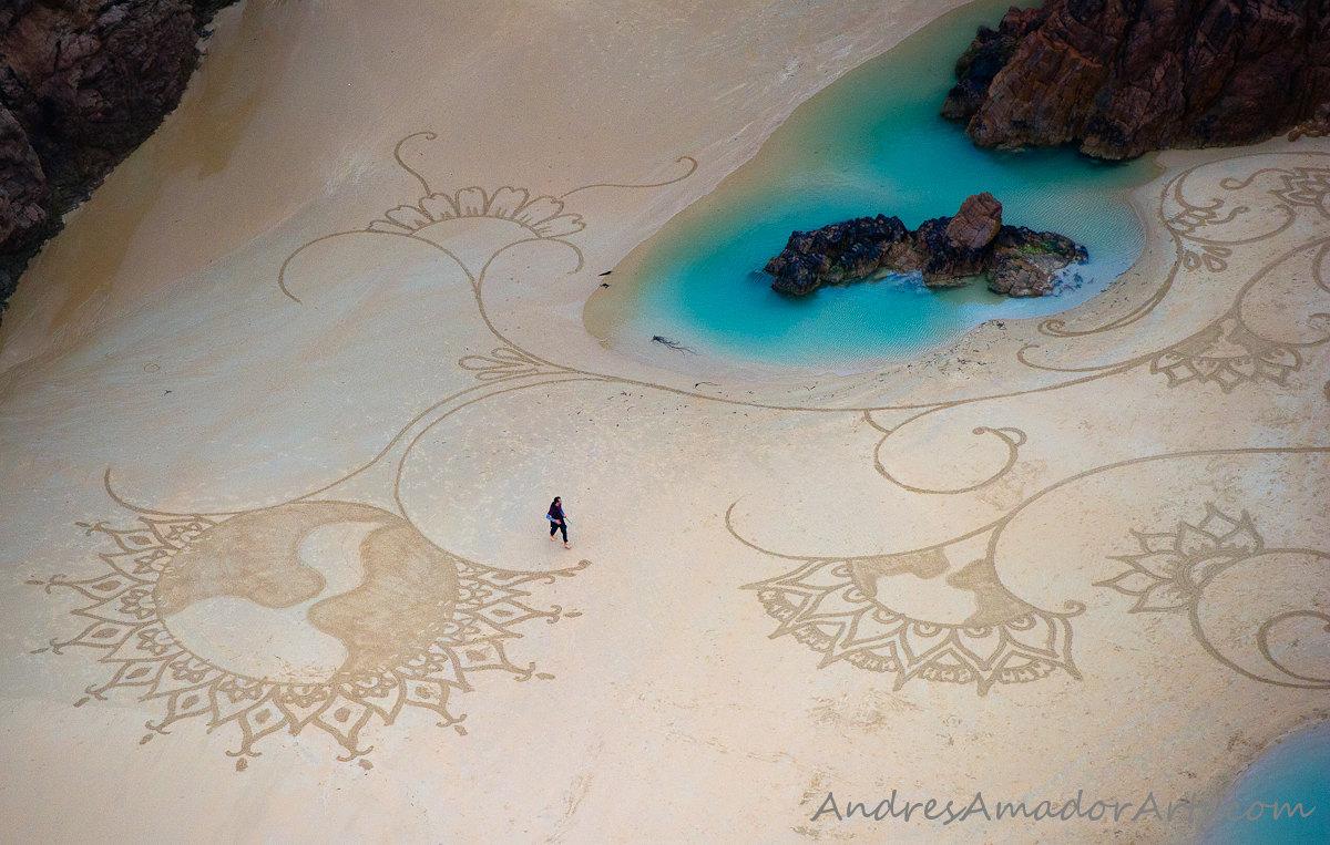 Малюнки на піску
