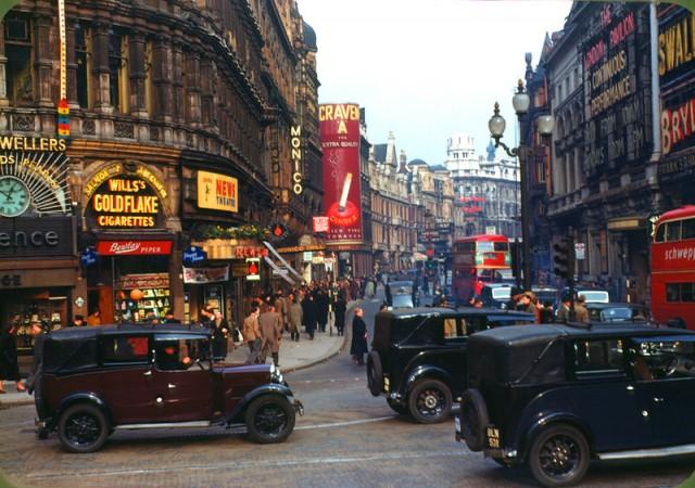 Кольорова Британія 1940-х років