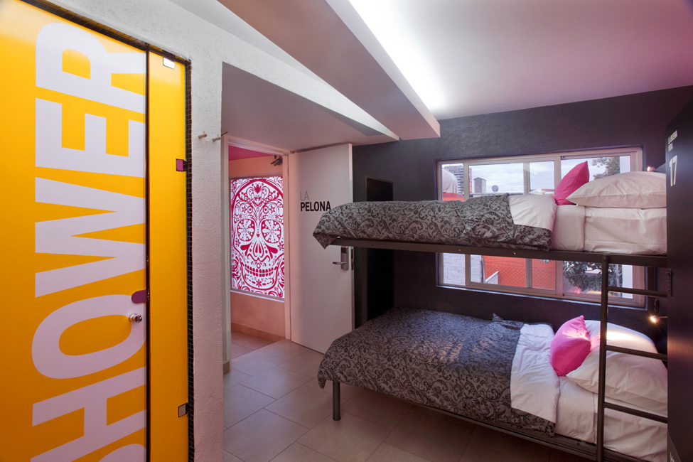 Хостел Hostal La Buena Vida у Мехіко