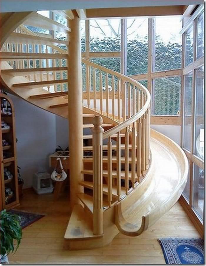 Незвичайний дизайн сходів