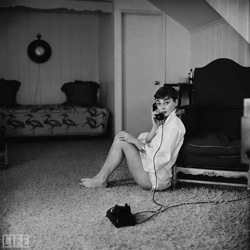 25-річна Одрі Хепберн, Mark Shaw, 1954