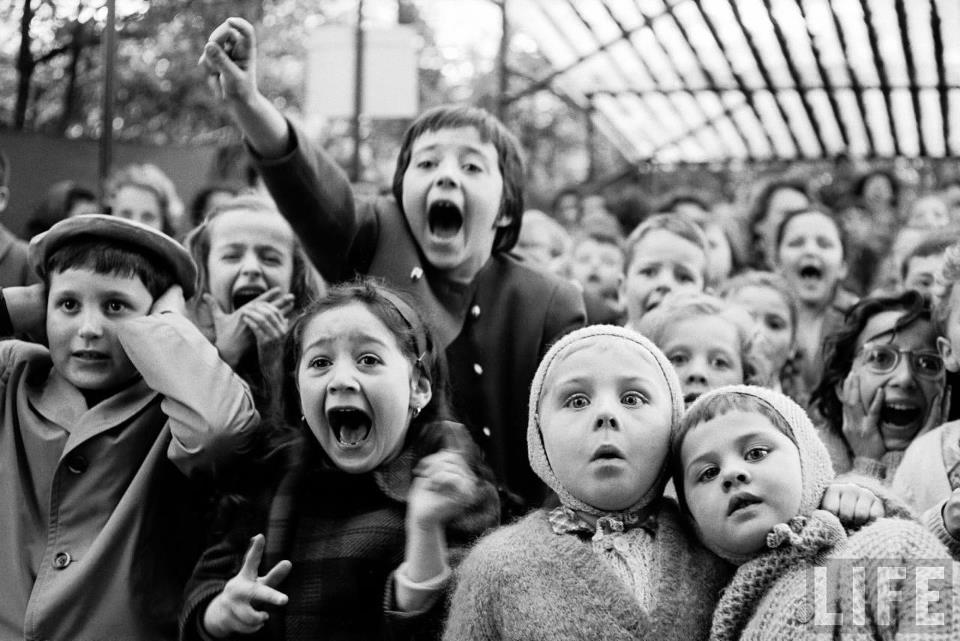 Лялькова вистава у паризькому парку, Alfred Eisenstaedt, 1963