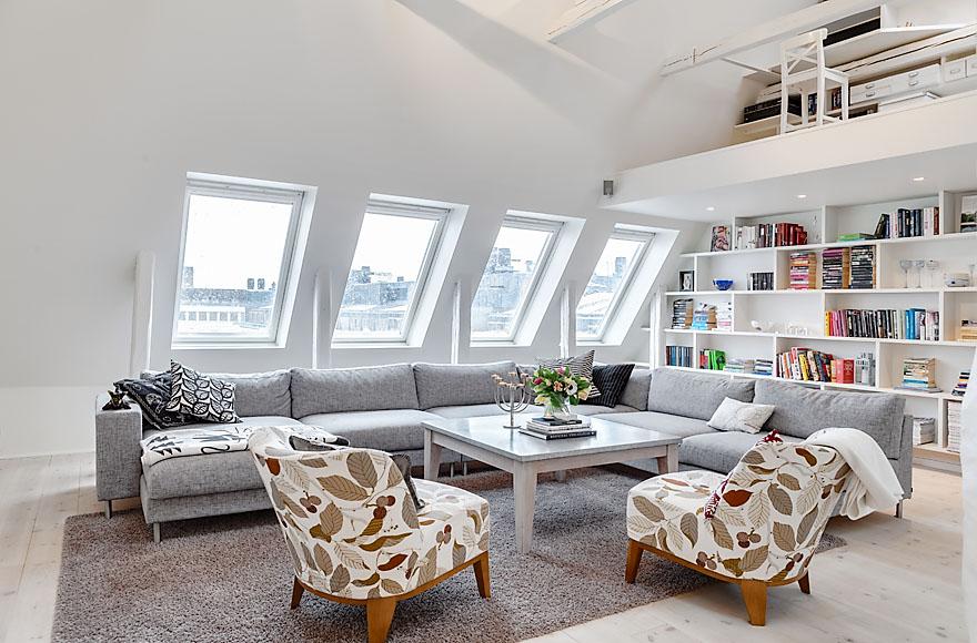 Квартира тижня: пентхаус у Стокгольмі