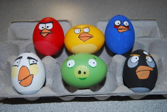 Писанки Angry Birds