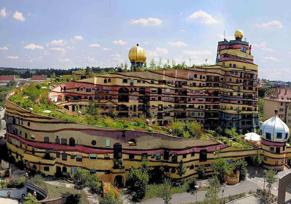 Казкові будинки від австрійського архітектора