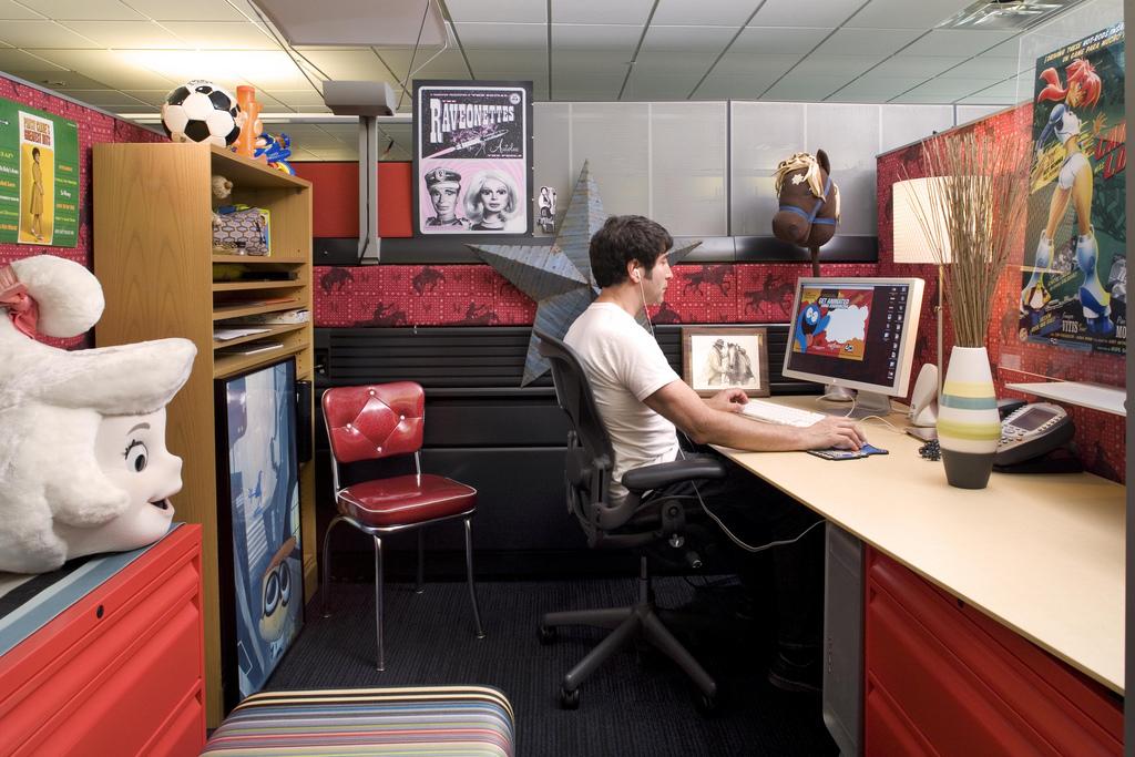 Офіси Cartoon Network i Turner Sports в Атланті