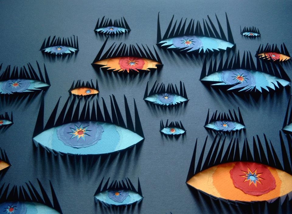 Паперове мистецтво Лілії Тєптяєвої