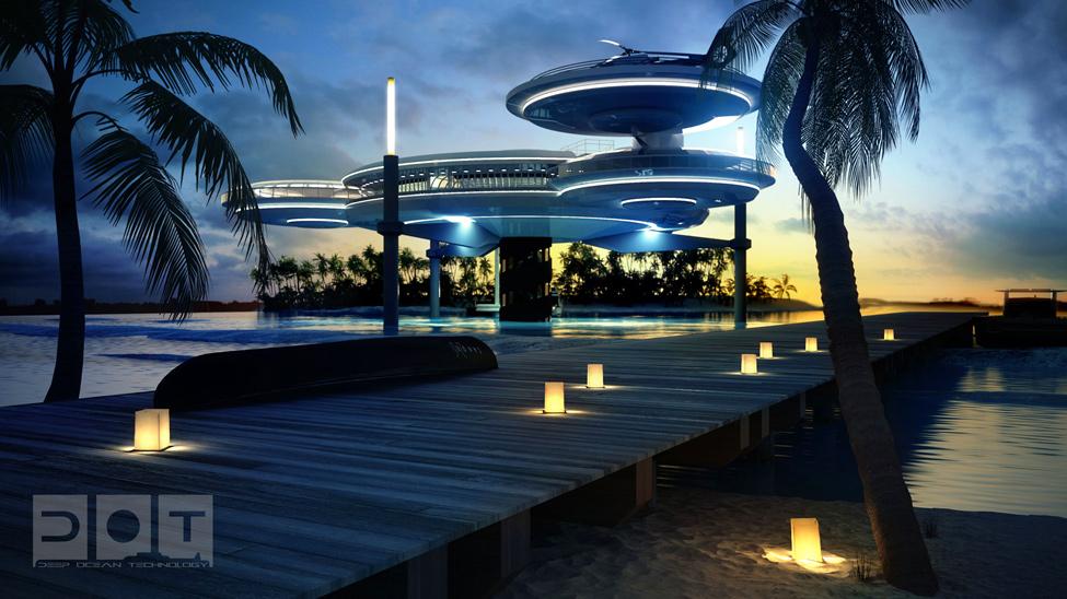 Підводний готель Water Discus у Дубаї