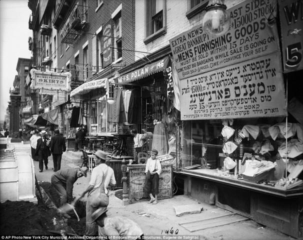 Вулична торгівля, 1908