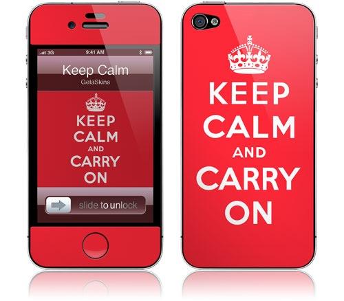 Наклейки Gelaskins для iPhone