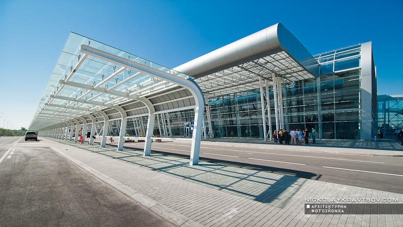 Новий термінал Львівського аеропорту ім. Данила Галицького