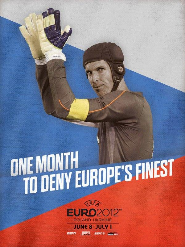 Мотивуючі постери для команд Євро-2012