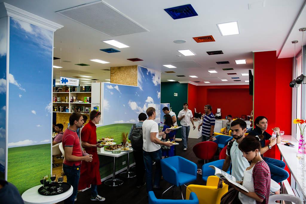 Smart cafe Bibliotech