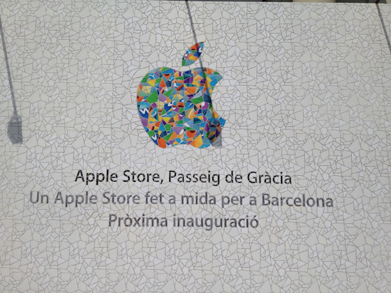 Apple Store Barcelona logo
