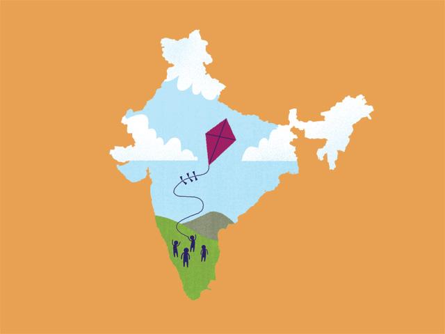 Індія - найкраще місце для того, щоб запустити повітряного змія