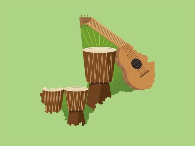 Малі - найкраще місце для того, щоб слухати музику
