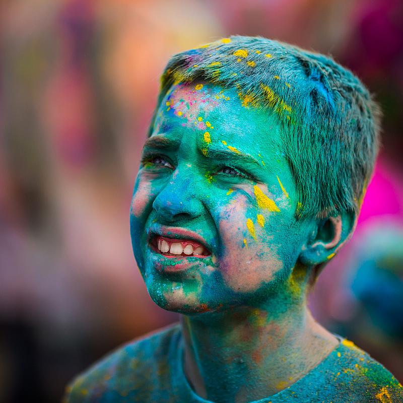 Фестиваль кольору в США