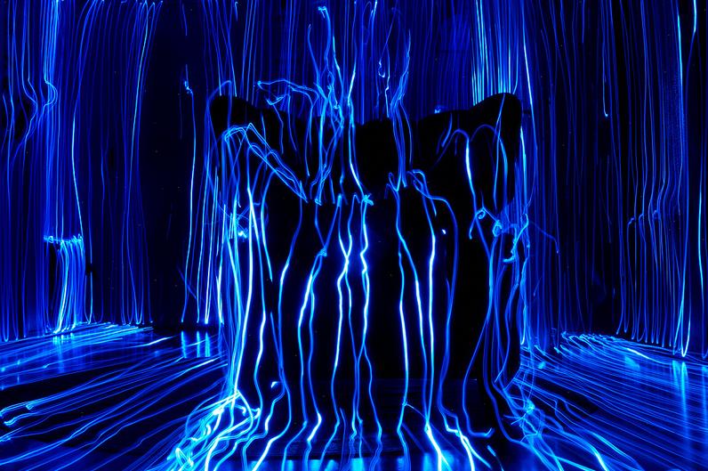 Тривимірні ілюстрації зі світла