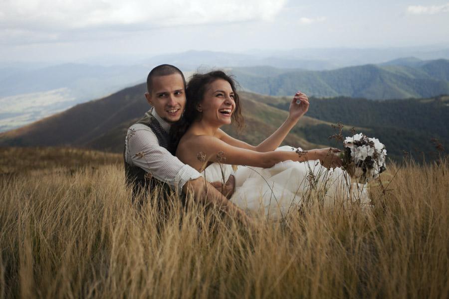 Весілля на вершині гори