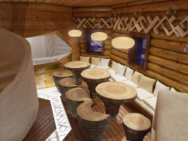 Готель у формі копиці сіна