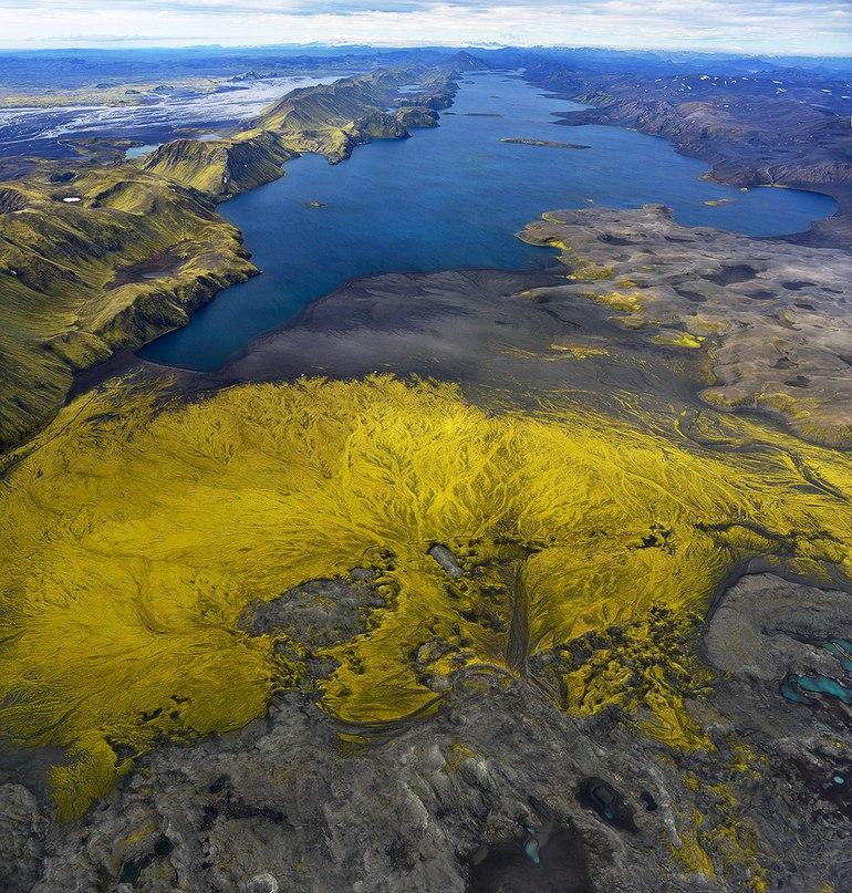 Вражаючі фото Ісландії з висоти