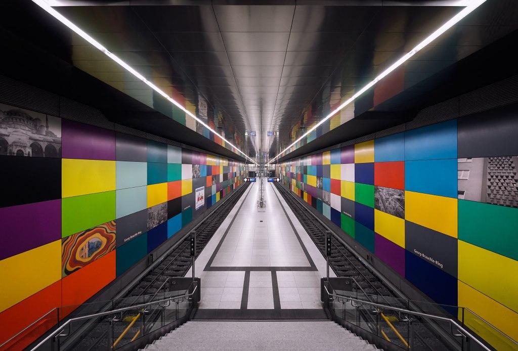 Ультрасучасне метро Мюнхена