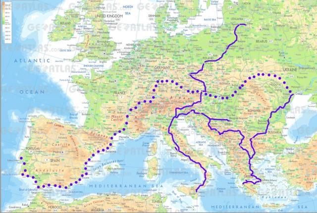 Карта подорожі