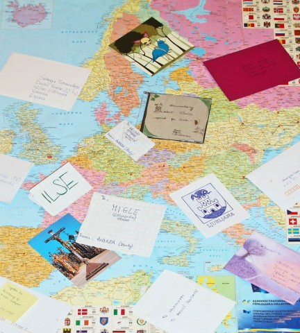Карта листівок