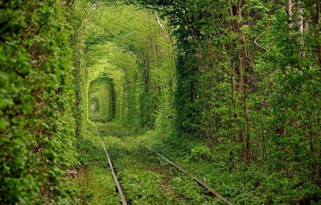 Тунель любові, Україна