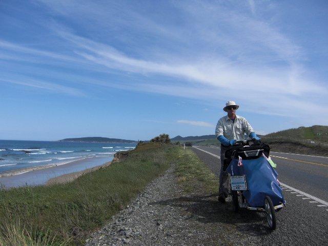 На березі океану в Новій Зеландії
