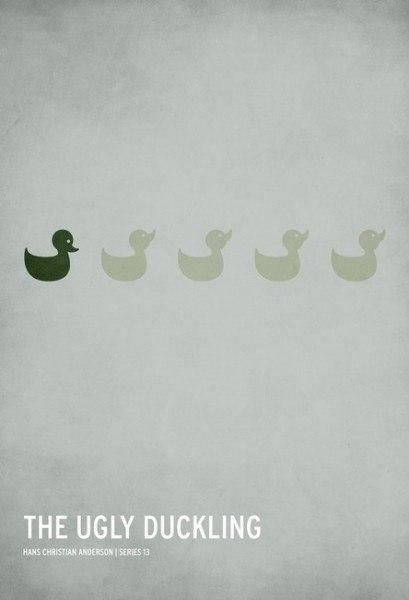 Крістіан Джексон: лаконічні постери до казок