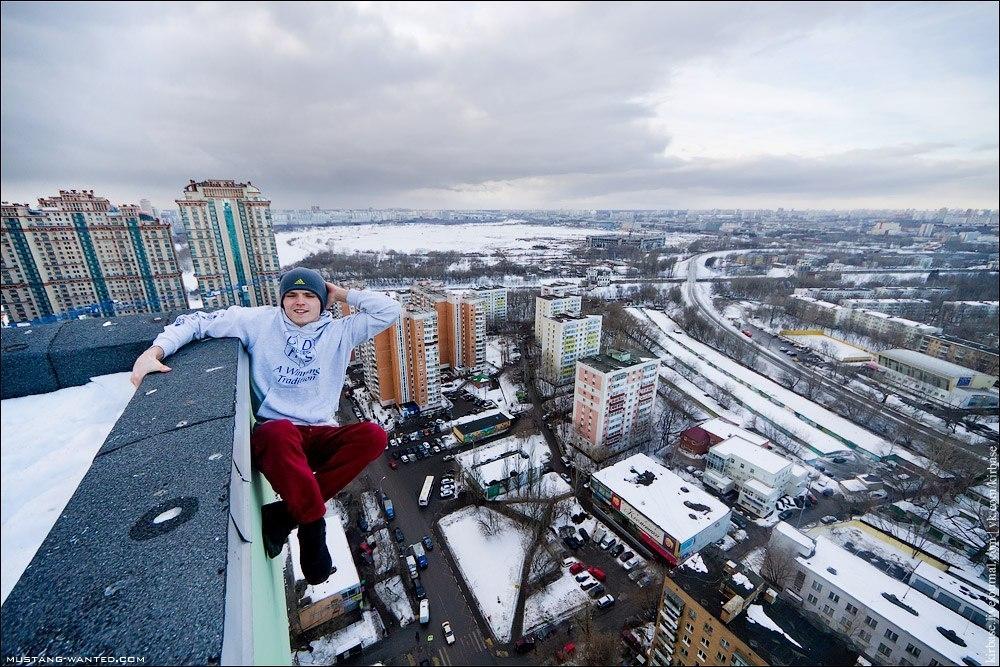 На краю прірви: руфер з Києва
