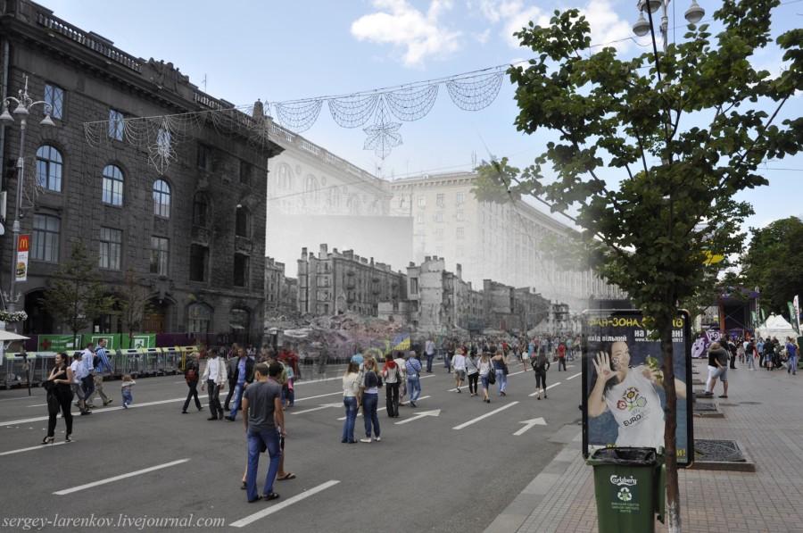 1943/2012 Зруйнований Хрещатик