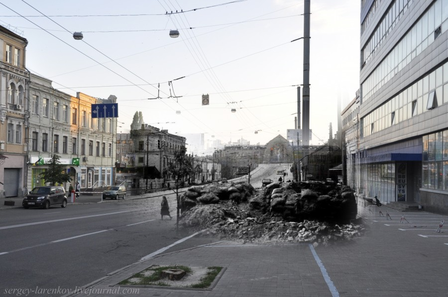 1941/2012. Вулиця Петлюри, дорога до вокзалу