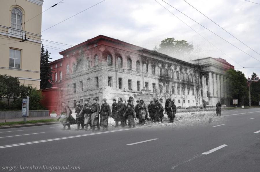 1943/2012 Спалений фашистами червоний корпус Київського університету