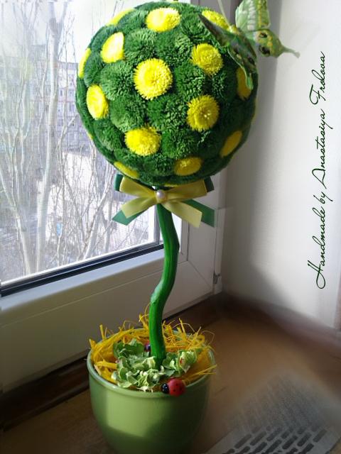 Різнокольорові дерева, квіти та незвичайні речі від Анастасії Фролової