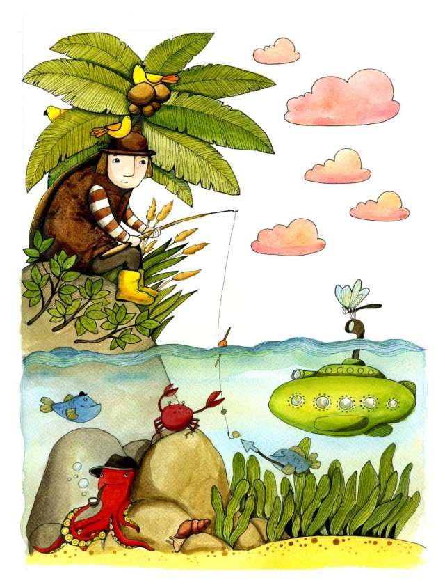 Марися Рудська, художник-ілюстратор –про творчість, красиві українські книжки та естетику обкладинок