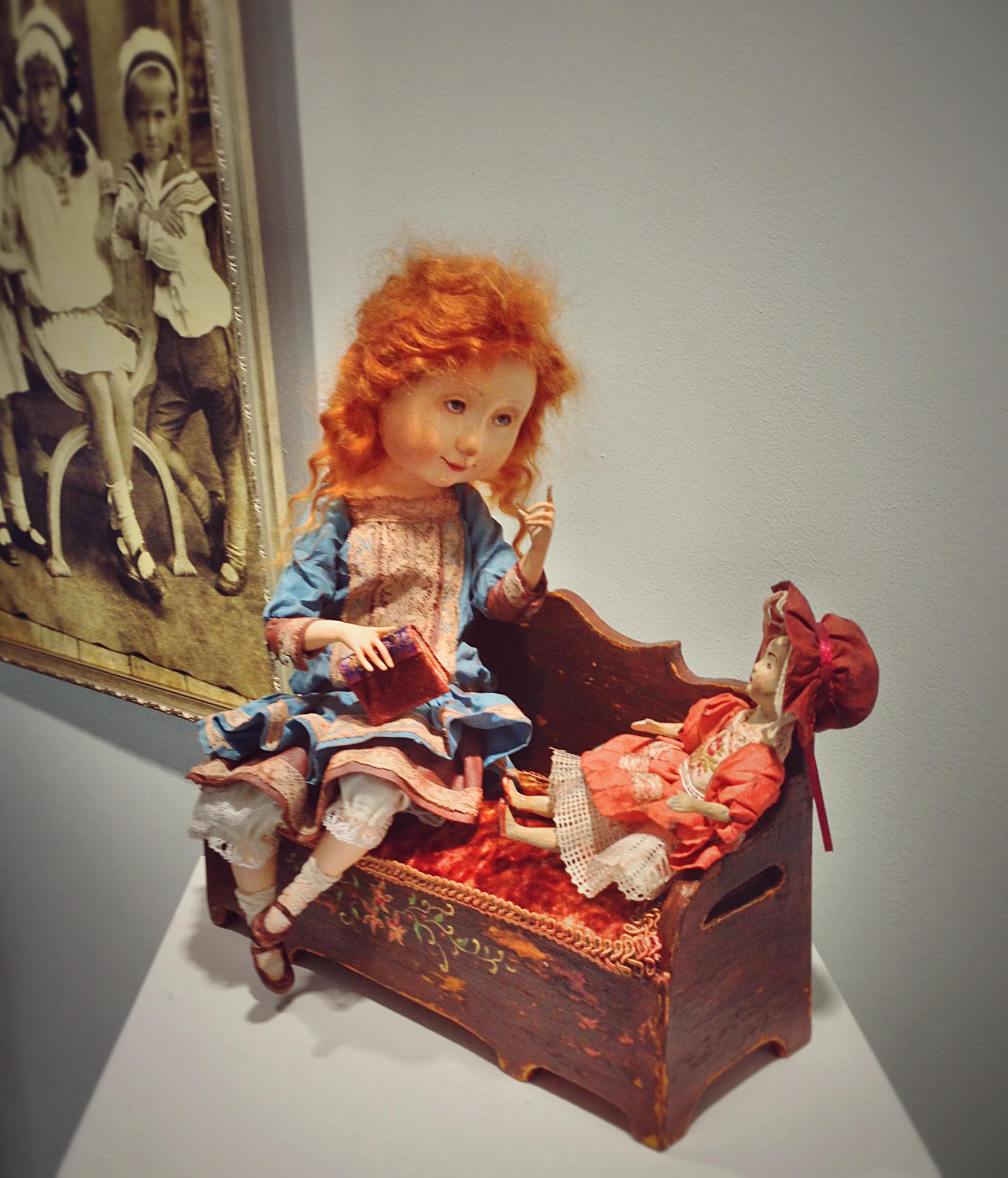 Виставка авторських ляльок у Вінниці