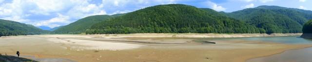 Пересохле Вільшанське водосховище