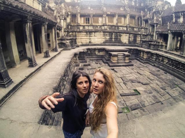 Сіамріп. Бігаємо серед храмів Ангкор-вату, коли вже повиганяли всіх туристів
