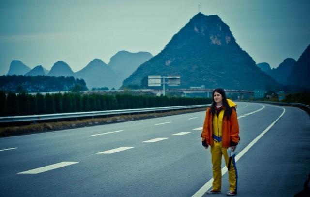 Китай. Неподалік міста Яншо