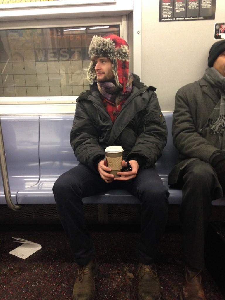 метро Нью-йорку: без кави - не за шаблоном :-)