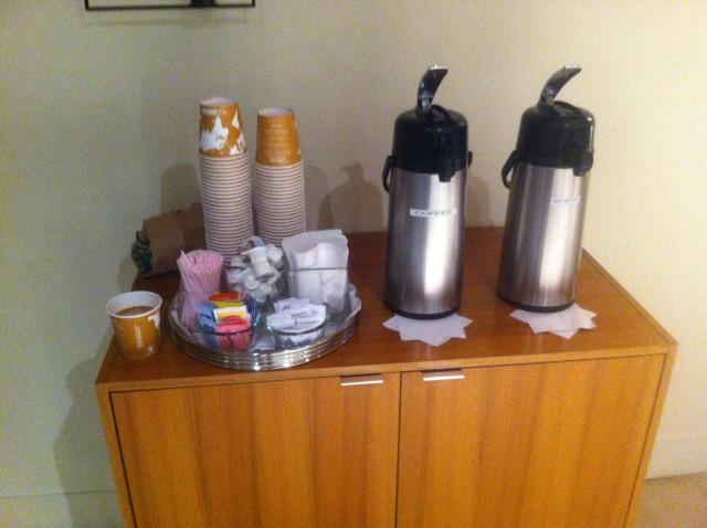 деякі будинки US зустрічають мешканців ранковою кавою