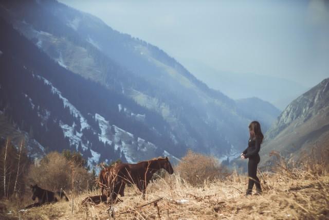 На вершинах Алматинських гір