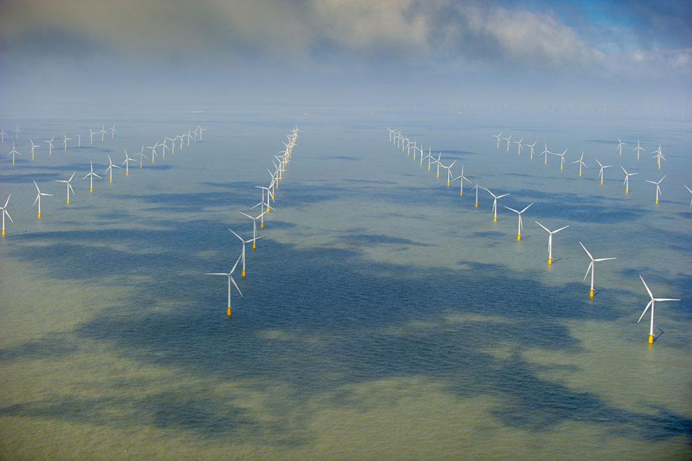 Вітрові електростанції на Північному морі