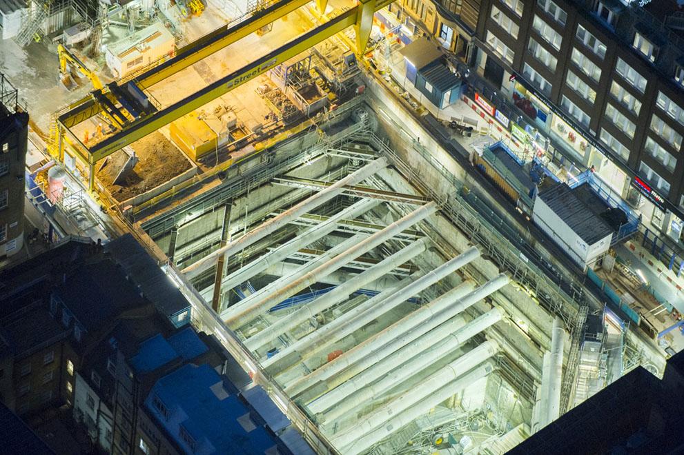 Будівництво метро у Лондоні