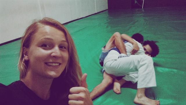 Gracie Jiu Jitsu в процессі :)