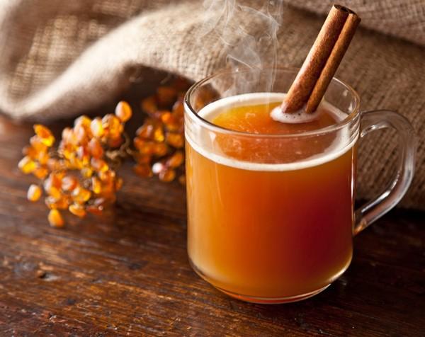 7. облепиховый чай